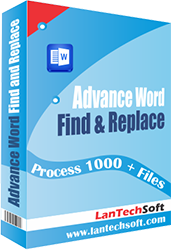 Advance Word Find & Replace Pro