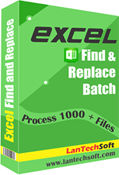 Excel Find & Replace Batch