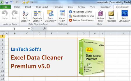 Excel Data Cleaner Premium screenshot